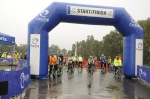 A very wet start at the Whittlesea challenge