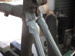 Colnago Master seat stays fluxed