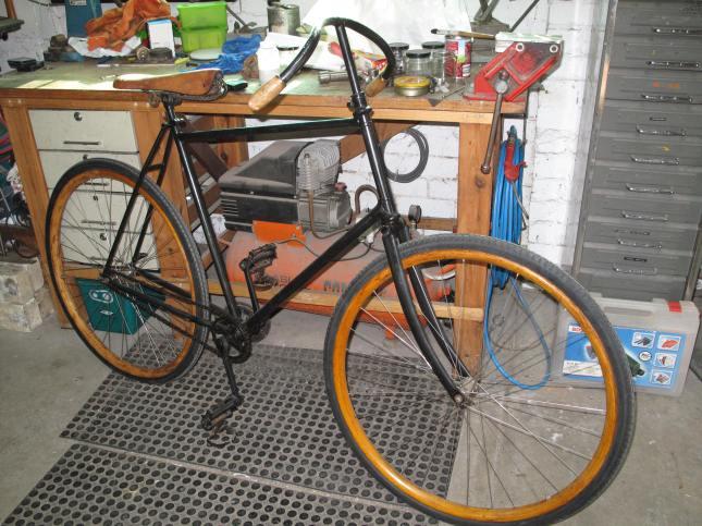 Paul Farrens bike