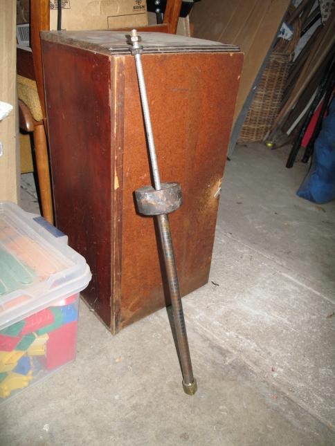 Slide Hammer for a seat tube